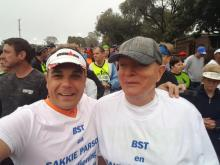 Wally Hayward Marathon, hier kom ons!